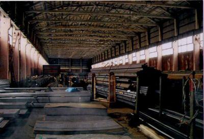 Часть склада неотапливаемого, охраняемая территория